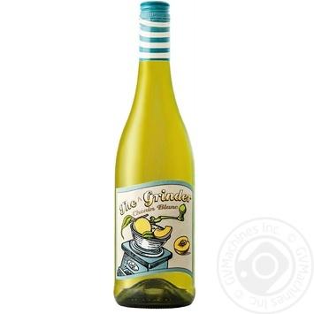 Вино The Grinder Chenin Blanc белое сухое 13% 0,75л - купить, цены на СитиМаркет - фото 1