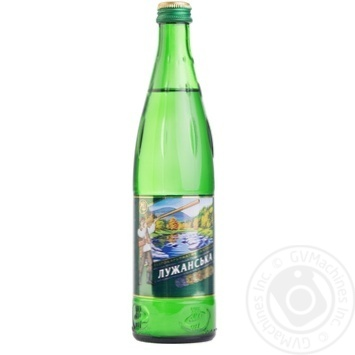 Luzhanska strongly carbonated mineral water 500ml