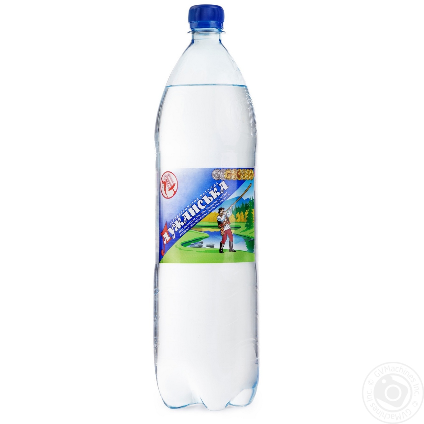 Sparkling medical table mineral water luzhanska 1500ml for Sparkling water mixed drinks