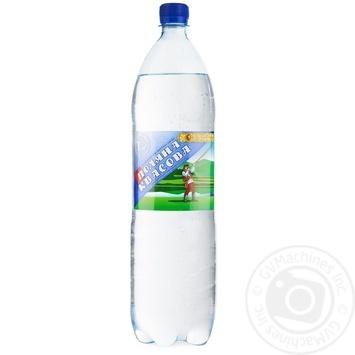 Sparkling medical-table mineral water Polyana Kvasova 1,5l