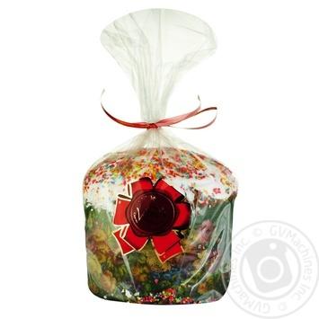 Кекс пасхальный домашний 500г - купить, цены на Ашан - фото 1