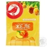 Желе Ашан со вкусом персика 90г