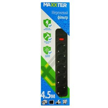 Сетевой фильтр Maxxter SPM5-G-15