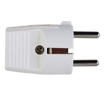 Electraline Plug White With Grounding 16A 250V - buy, prices for Tavria V - image 1
