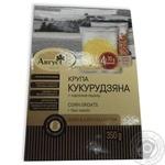 Крупа в пакетиках для варки крупа кукурудзяна з насінням льону Август 350г