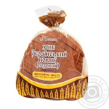 Bread Kulynychi Ukrainian cutting 950g Ukraine - buy, prices for CityMarket - photo 1