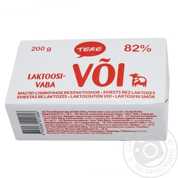 Butter Tere cream packed 82% 200g - buy, prices for MegaMarket - image 1