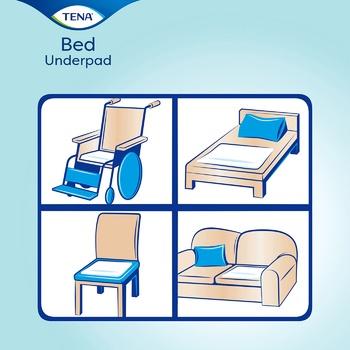 Пелюшки Tena Bed Plus впитывающие 60х90 5шт - купити, ціни на Ашан - фото 2