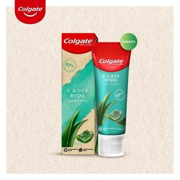 Зубная паста Colgate Забота о деснах с алоэ вера 75мл - купить, цены на УльтраМаркет - фото 6