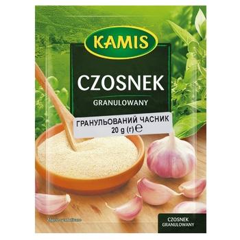 Приправа Kamis Часник гранульований 20г - купити, ціни на МегаМаркет - фото 1