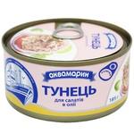 Тунець Аквамарин для салатів в олії 185г