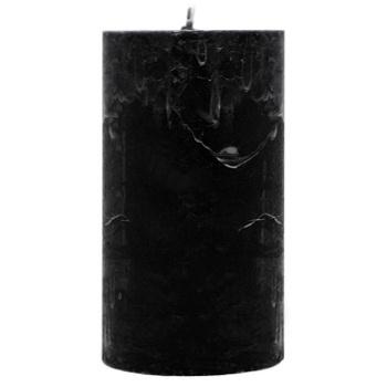 Свеча Pragnis Рустик цилиндр черный