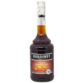 Ликер Bardinet Амаретто 25% 0,7л - купить, цены на Метро - фото 1