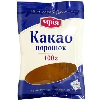 Какао Мрия порошок 100г - купить, цены на Ашан - фото 2
