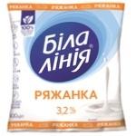 Ряженка Белая Линия 3,2% 400г