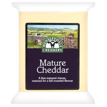 Сыр Wensleydale Чеддер выдержан белый 200г