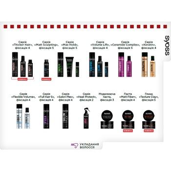 Syoss Keratin Hairspray Extrasensory fixation 4 400ml - buy, prices for CityMarket - photo 3