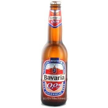 Пиво Bavaria светлое безалкогольное 0,33л - купить, цены на МегаМаркет - фото 1