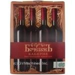 Wine Bochenok red dry 13% 3000ml Ukraine