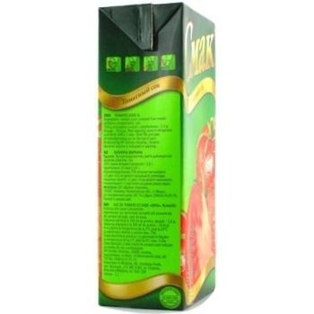 Сок Смак томатный восстановленный тетрапакет 1000мл Украина - купить, цены на Novus - фото 2