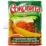 Нектар Соковита Тропики фрукты 200мл тетрапакет Украина