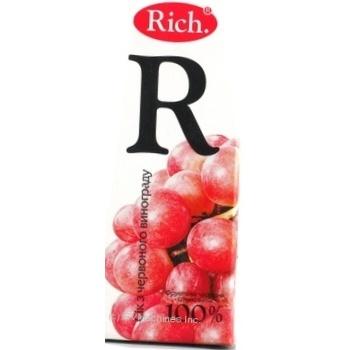 Nectar Rich grape 200ml tetra pak Ukraine