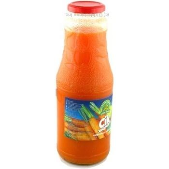Сок Дары Ланив Здоровье морковно-яблочный стерилизованный стеклянная бутылка 1000мл Украина - купить, цены на Novus - фото 4