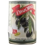 Diva Oliva Large Boneless Black Olives