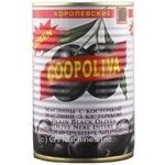 olive Coopoliva black with bone 850ml can Spain