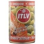 olive Itlv green stuffed 314ml can Spain