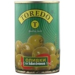 olive Toredo green with bone 314ml can Spain