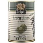 olive Delfi green with bone 425ml can Greece