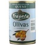 оливка Фрагата с сыром зеленый фарширований 300г железная банка Испания