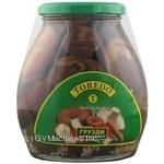 Mushrooms milk mushroom Toredo pickled 580ml glass jar China