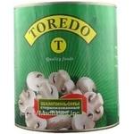 Mushrooms cup mushrooms Toredo pickled 3100g can