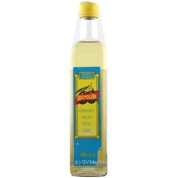 Олія оливкова Coopoliva Exstra light 500мл