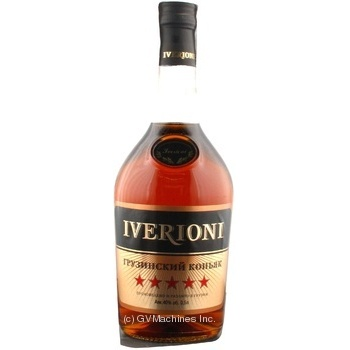 Iverioni Cognac 5 stars 5 years 500ml - buy, prices for Furshet - image 1