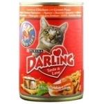 Корм для котів сухий Darling Курка 400г