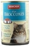 Корм для котів  Броконіс сайда-курча 0.4кг