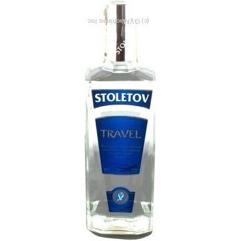 Горілка Stoletov Travel 40% 0,5л
