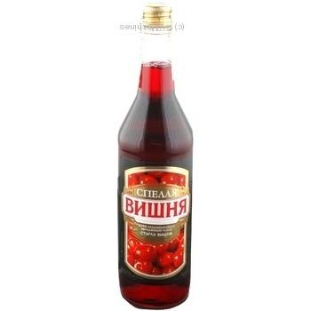 Напиток сбраживаемый Спелая Вишня плодово-ягодній 11% 0,5л