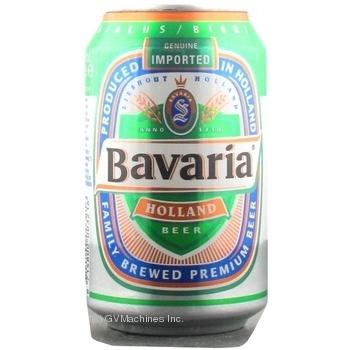 Пиво Bavaria Holland светлое 5% 330мл Голландия