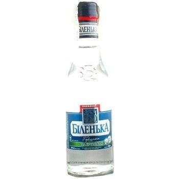 Vodka Bilenka Na brynkah 40% 200ml Ukraine