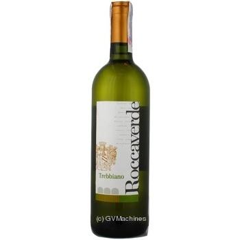 Вино Roccaverde Trebbiano 0,75л x3
