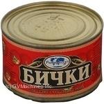 Fish gobies Rybprodukt in tomato sauce 250g can Ukraine