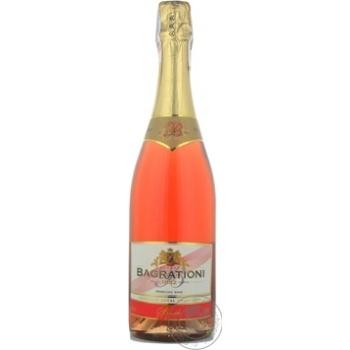 Вино игристое Bagrationi розовое полусладкое 12% 0,75л - купить, цены на МегаМаркет - фото 5