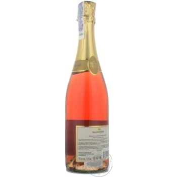 Вино игристое Bagrationi розовое полусладкое 12% 0,75л - купить, цены на МегаМаркет - фото 6