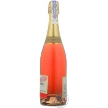Вино игристое Bagrationi розовое полусладкое 12% 0,75л - купить, цены на МегаМаркет - фото 2