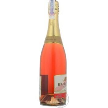 Вино игристое Bagrationi розовое полусладкое 12% 0,75л - купить, цены на Восторг - фото 3