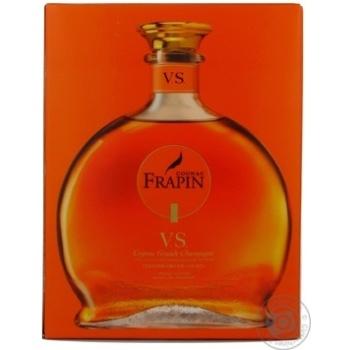 Коньяк Фрапен 40% vs 350мл стеклянная бутылка Франция